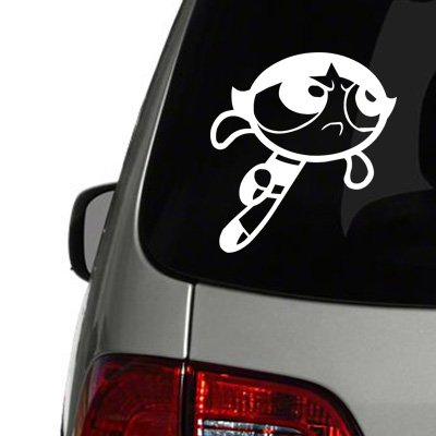 Powderpuff Girls Buttercup Vinyl Decal