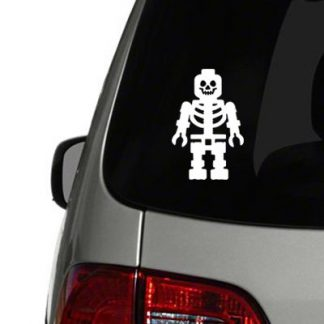lego skeleton vinyl decal