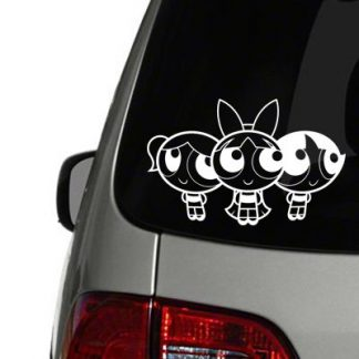 powerpuff girls vinyl decal