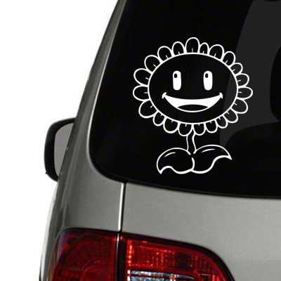 Sunflower - Plants vs Zombies Vinyl Decal
