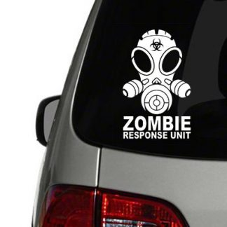zombie response unit vinyl decal