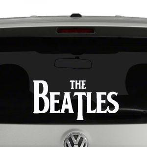 The Beatles Logo Vinyl Decal