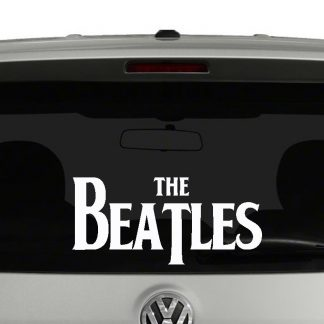 The Beatles Logo Vinyl Decal