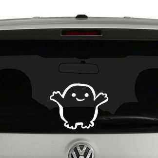adiposeDoctor Who Adipose Baby Vinyl Decal
