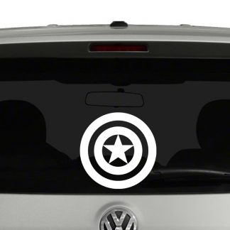 Captain America Shield Vinyl Decal
