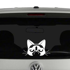 Grumpy Cat Vinyl Decal