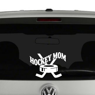 Hockey Mom Vinyl Decal