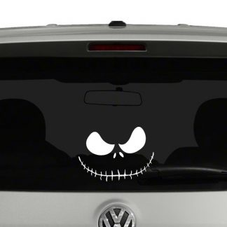Jack Skellington Grin Vinyl Decal
