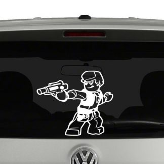 Lego Han Solo Minifig Vinyl Decal