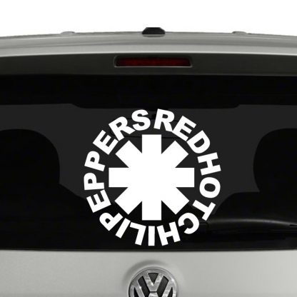 Red Hot Chili Peppers Vinyl Decal