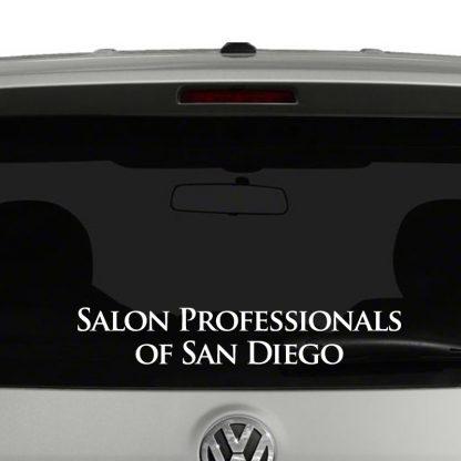 San Diego Salon Professionals Vinyl Decal