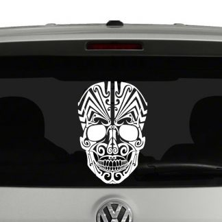 Tattoo Skull VInyl Decal