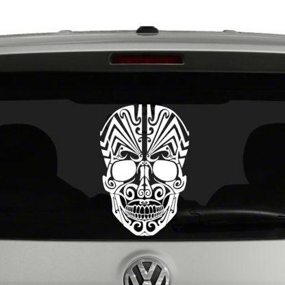 Tattoo Skull VInyl Decal