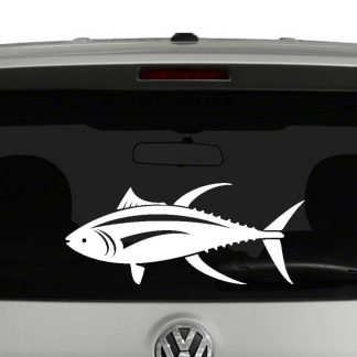 Tuna Fish Vinyl Decal