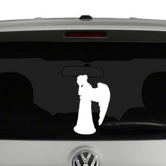 Doctor Who Weeping Angel Vinyl Decal