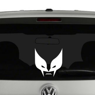 Wolverine Face Vinyl Decal
