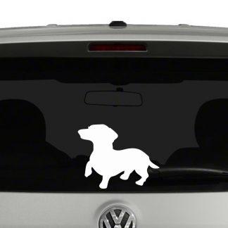 Dachshund Dog Sillhouette Vinyl Decal