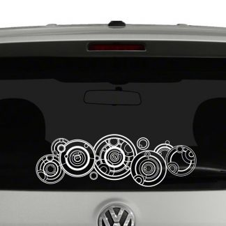 Doctor Who Gallifreyan Vinyl Decal