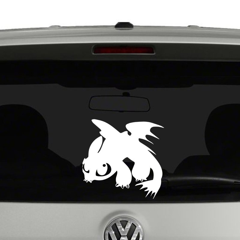 How to Train a Dragon Toothy Vinyl Decal