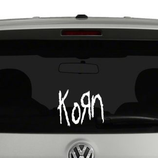 Korn Vinyl Decal