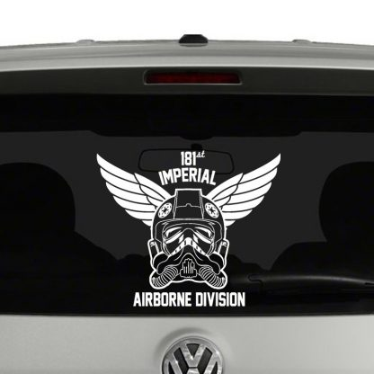 Tie Fighter Airborne Division Vinyl Decal