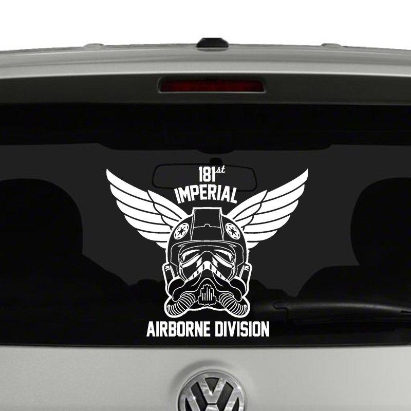 Tie Fighter Airborne Division Vinyl Decal