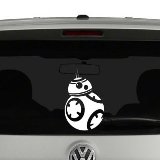 Star Wars Inspired BB8 Droid Vinyl Decal