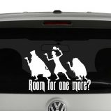 Haunted Mansion Hitchhiking Ghosts Vinyl Decal Sticker