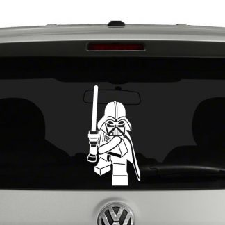 Lego Darth Vader Vinyl Decal Sticker