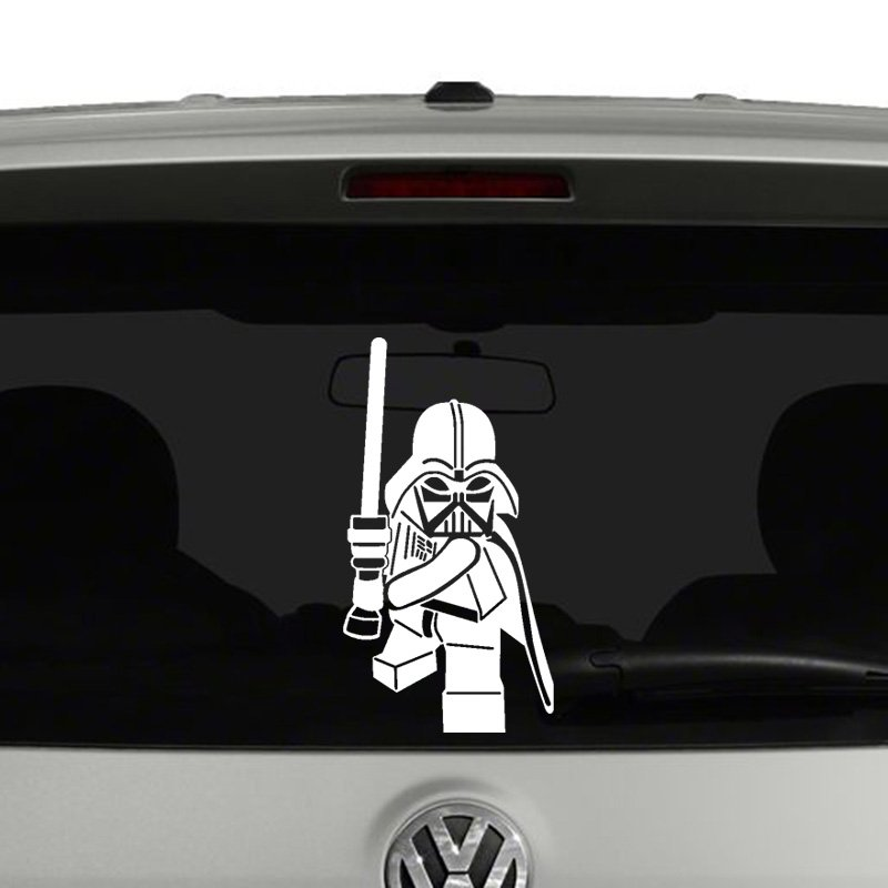 Lego Darth Vader Vinyl Decal Sticker