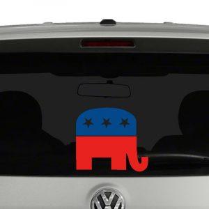 Republican Party Mascot Vinyl Decal