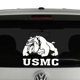 USMC Marine Corps Bulldog Vinyl Decal