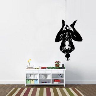 Hanging Spiderman Vinyl Wall Decal