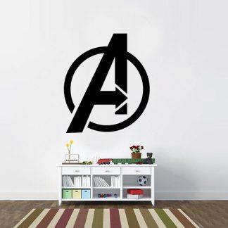 Avengers Logo Vinyl Wall Decal