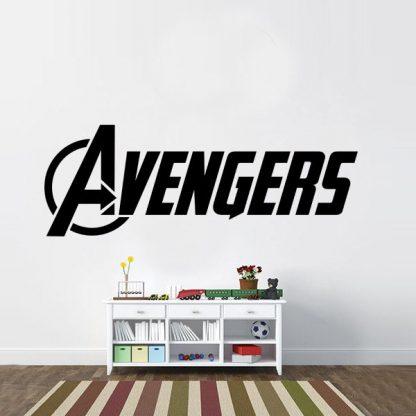 Avengers Full Logo Vinyl Wall Decal