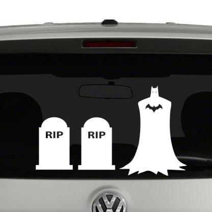 Batman Stick Figure Family Vinyl Decal Sticker