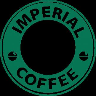Imperial Coffee Star Wars Stormtrooper Starbucks Vinyl Decal Sticker
