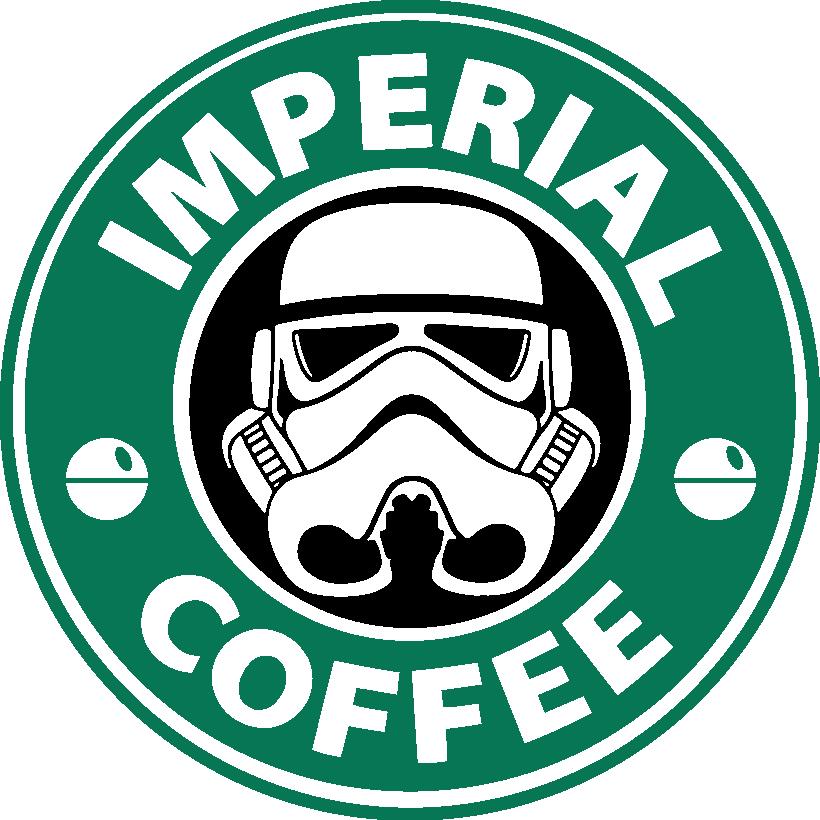 Imperial Coffee Star Wars Stormtrooper Starbucks Vinyl
