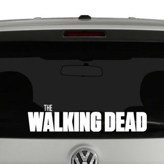 The Walking Dead Title Vinyl Decal Sticker