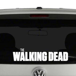 The Walking Dead Title Vinyl Decal Sticker