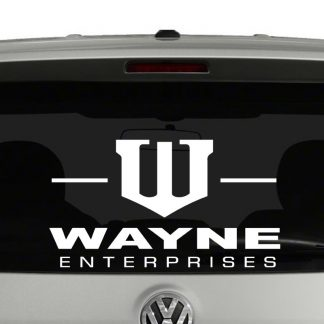 Wayne Enterprises Logo Vinyl Decal Sticker