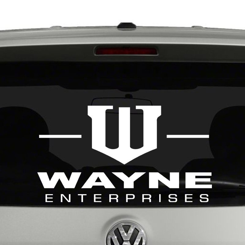 Wayne Enterprises Logo Vinyl Decal Sticker