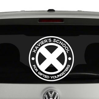 Xavier's School For Gifted Youngsters Vinyl Decal Sticker