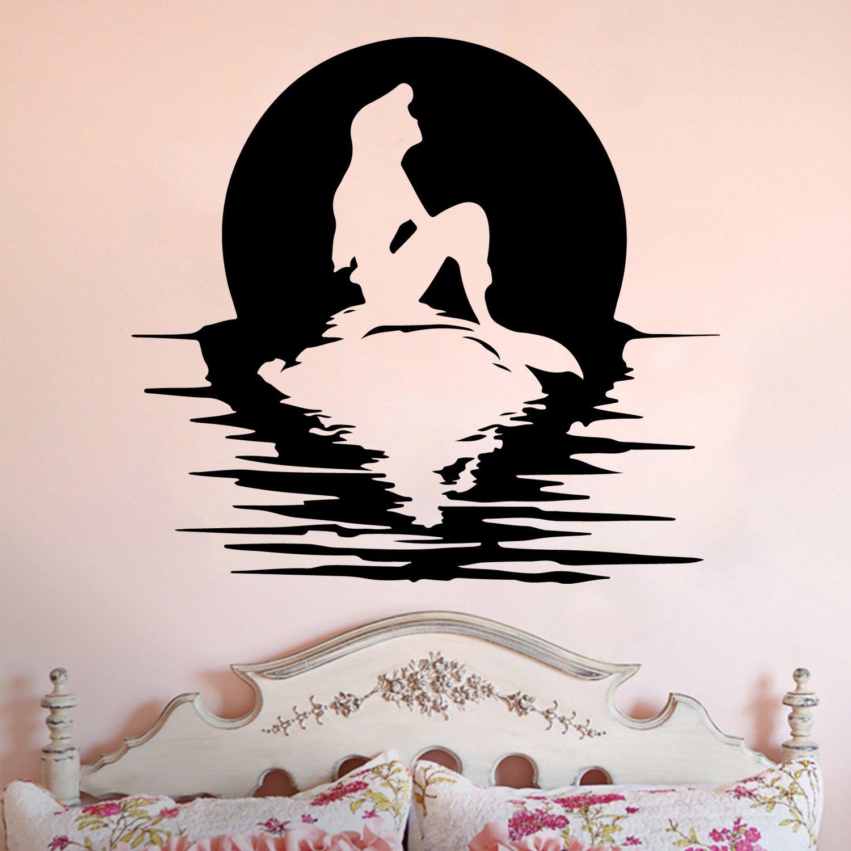 Mermaid Silhouette Wall Decal