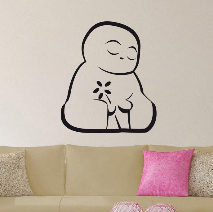 Dosjin Buddha Vinyl Wall Decal