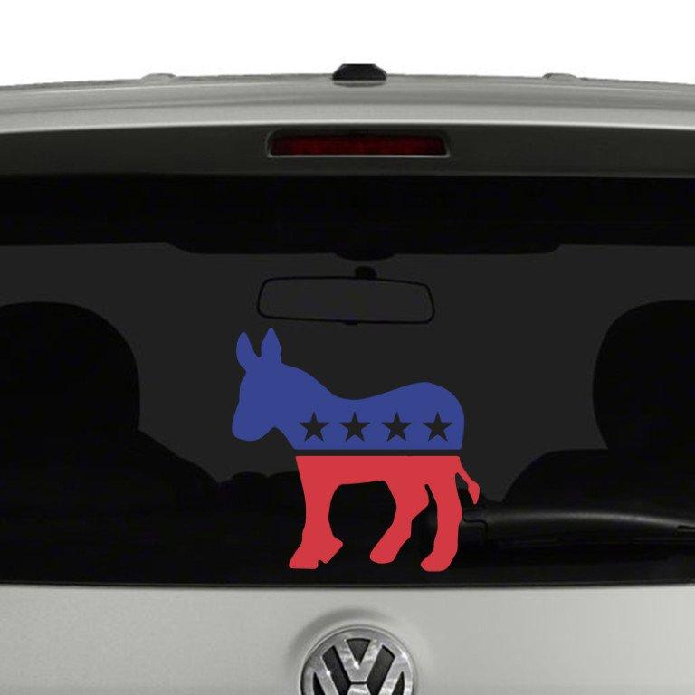 Democrat Party Mascot Donkey Vinyl Decal