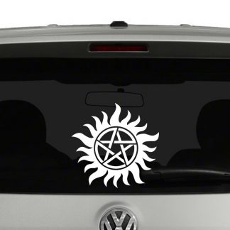 Anti-Possesion Symbol Supernatural Vinyl Decal Sticker Window
