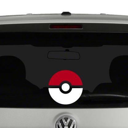 Pokemon Pokeball Vinyl Decal Sticker