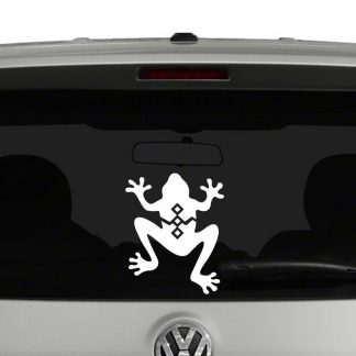 South West Style Frog Vinyl Decal Sticker Car