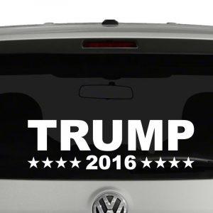 Trump 2016 President Campaign Vinyl Decal Sticker